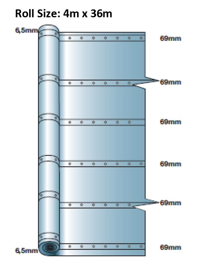 Fire Resistant Reinforcement : Flame retardant containment sheeting monarflex