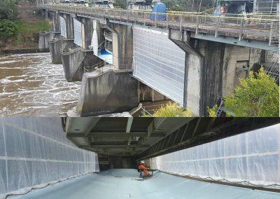 Monarflex-Narracan Spillway Gates