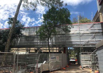 Westmead Hospital - Myscaffold Installation