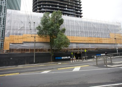 Scaffold Logistics Swanston Square Project
